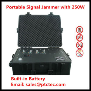 Powerfu Portable Jammer/ Manpack Bomb Signal Jammer pictures & photos
