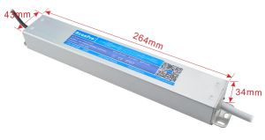 Hyrite Constant Voltage Single Output Switching Power Supply Waterproof LED Driver with Ce RoHS Bis SAA Saso TUV pictures & photos