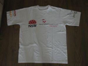 Custom Made Screen Print Cotton T Shirt pictures & photos