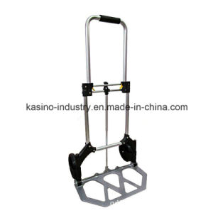 Ht1590 Aluminum Folding Portable Hand Truck Cart Hand Trolley (Competitive price) pictures & photos