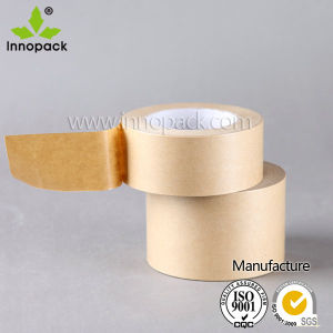 Custom Printed Kraft Paper Tape /Wet Water Kraft Tape with Logo Printing pictures & photos