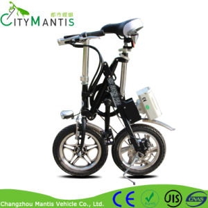 250W Folding Ebike 16′′ Carbon Steel City Electric Bicycle pictures & photos