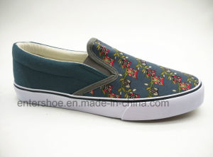 Hot Sale Vulcanized Summer Women Shoes with Rubber Sole pictures & photos