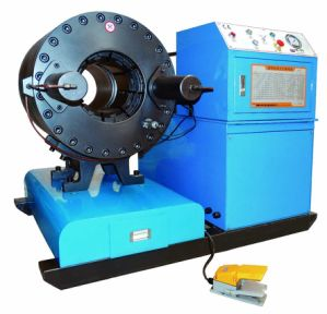 Hydraulic Pipe Crimping Machine Km-91f for 12inch Pipe/Tube/Bsp Fittings pictures & photos