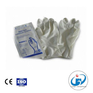 CE Certified Medical Surgical Latex Gloves