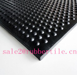 Acid Resistant Colorful Rib Industrial Rubber Sheet Roll pictures & photos