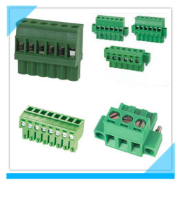 Euro 3.5mm 3.81mm Pitch Pulggable Terminal Block pictures & photos