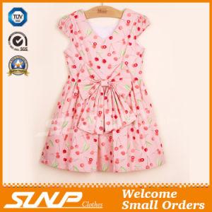 High Quality Girls Flowers Dress Sleeveless Children Clothes
