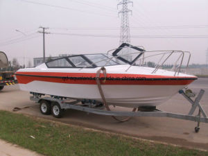 Aqualand 25feet 7.6m Fiberglass Ferry Boat/Water Taxi/Speed Boat (760) pictures & photos
