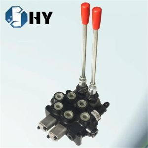 2 spool Hydraulic steering control valve Directional control valve pictures & photos