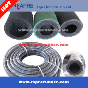 China Factory Price Rubber Cotton Braided Sandblast Hose pictures & photos