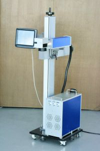 Customized Laser Machine 20 Watt Fiber Laser Type for Heat Insulation Plastic Strip pictures & photos