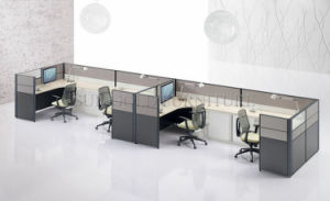 Modern Office Furniture 4 Person Linear Office Partition Workstation (SZ-WS250) pictures & photos