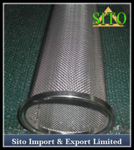 Stainless Steel Perforated Mesh Cylinder Filter pictures & photos