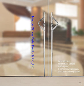 Dimon H Type Stainless Steel Glass Door Handle Dm-DHL 049 pictures & photos