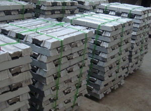High Purity Primary Pure Aluminium Ingots 99.99% / 99.9% /99.7%
