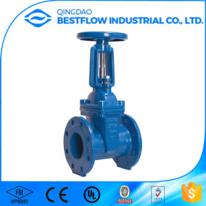 Cast Iron Metal Seat 6 Inch Cast Iron Water Gate Valve Ce Cer Valve pictures & photos