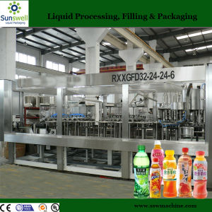 Complete Hot Juice Drinks Filling Bottling Production Line Machine pictures & photos