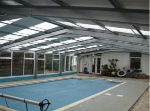 China Prefabricated Steel Buildings For Indoor Swimming Pool China Steel Buildings