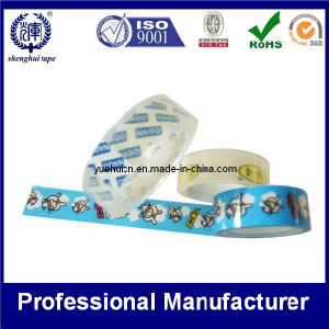 Custom Printed Stationery Tape Crystal Color Printed Logo pictures & photos