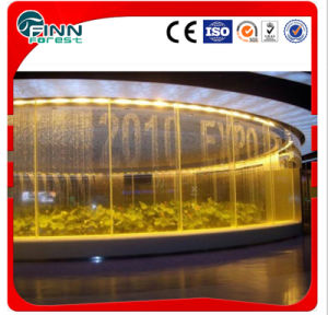 Round Shape Digtal Water Curtain (Can show wish and important inforamtion) pictures & photos