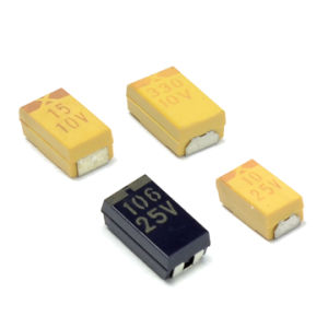 D Case (7343) SMD Tantalum Capacitor pictures & photos