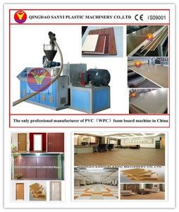 Wood Plastic Machine for WPC Floor and Door Board pictures & photos