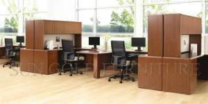 Durable Wood Executive Desk Office Workstation (SZ-WS308) pictures & photos