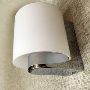 Modern Opal Glass Chrome IP54 Waterproof Outdoor Passage Bathroom Round Wall Lamp pictures & photos