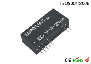 Two Wire DC Converter Voltage Signal Transmitter/Transducer/Conditioner (ISO V-4-20mA) pictures & photos