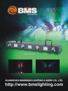 LED Four Heads Strobe Effect Light