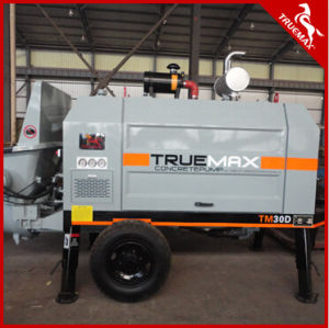 Ready Mix Small Portable Concrete Pump (SP15.10.50D) pictures & photos