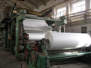 1575mm GM High Quality Single-Cylinder and Single-Dryer Can Waste Paper Recycle Machine pictures & photos