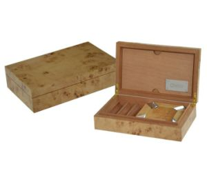 Smoking Cigar Storage Box with Ashtray pictures & photos