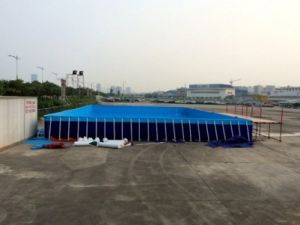 2017 New Inflatable Frame Swimming Pool pictures & photos