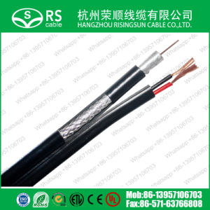 CCTV Cable RG6 with 2power Cord Wire UL/ETL/RoHS/Ce Approved