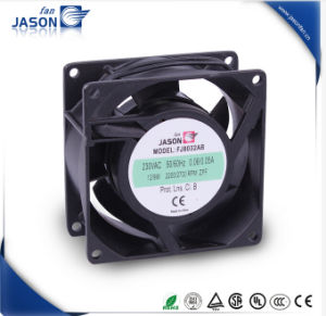 80X80X38mm Axial Compact Fan 220V for Exhaust (FJ8032AB) pictures & photos