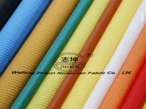 Spunbondpp Non Woven Fabric Raw Material in China pictures & photos