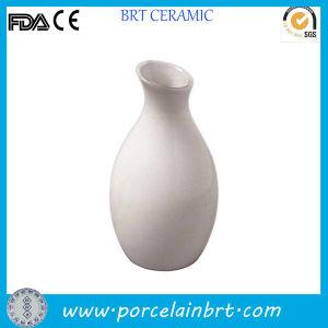 Ceramic White Jug Cheap Flower Vase pictures & photos