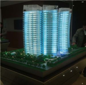Scale Building Model with Lighting System (JW-314) pictures & photos