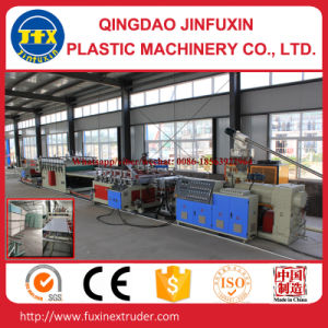 PVC Crust Foam Board Production Line with ISO9001 (SJ80/156) pictures & photos