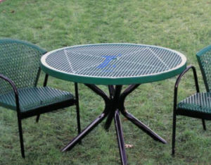 Steel Plate Mesh Chairs Punching pictures & photos