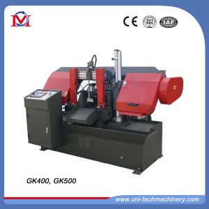 CNC Horizontal Double Column Sawing Machine (GK-500) pictures & photos