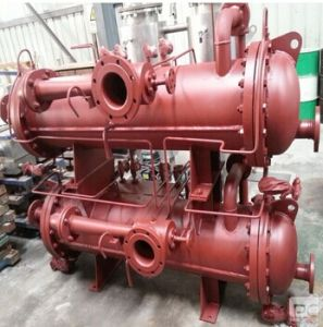 Double Array Copper Shell& Tube Heat Exchanger pictures & photos