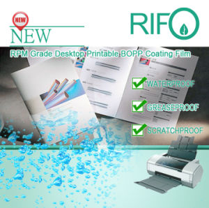 Rpm-110 Desktop Printer Printable PP Synthetic Paper with MSDS pictures & photos