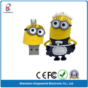 PVC Minions OTG USB 8GB