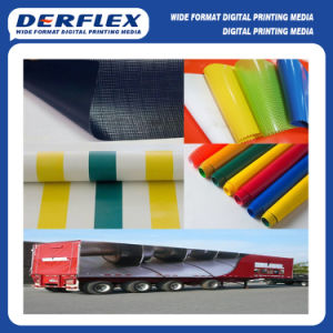 Durable Side Curtain Print Material PVC Tarpaulin pictures & photos