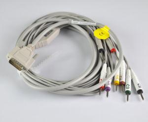 Nihon Kohden 9132k 10 Leads EKG Cable Banana pictures & photos