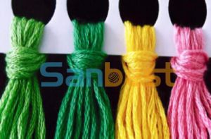 High Quality Cotton Floss Thread for Cross Stitch 30s/2*6 8m/Skei pictures & photos