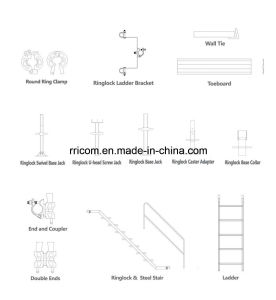 Ringlock Scaffold Accessories /Parts 1 pictures & photos